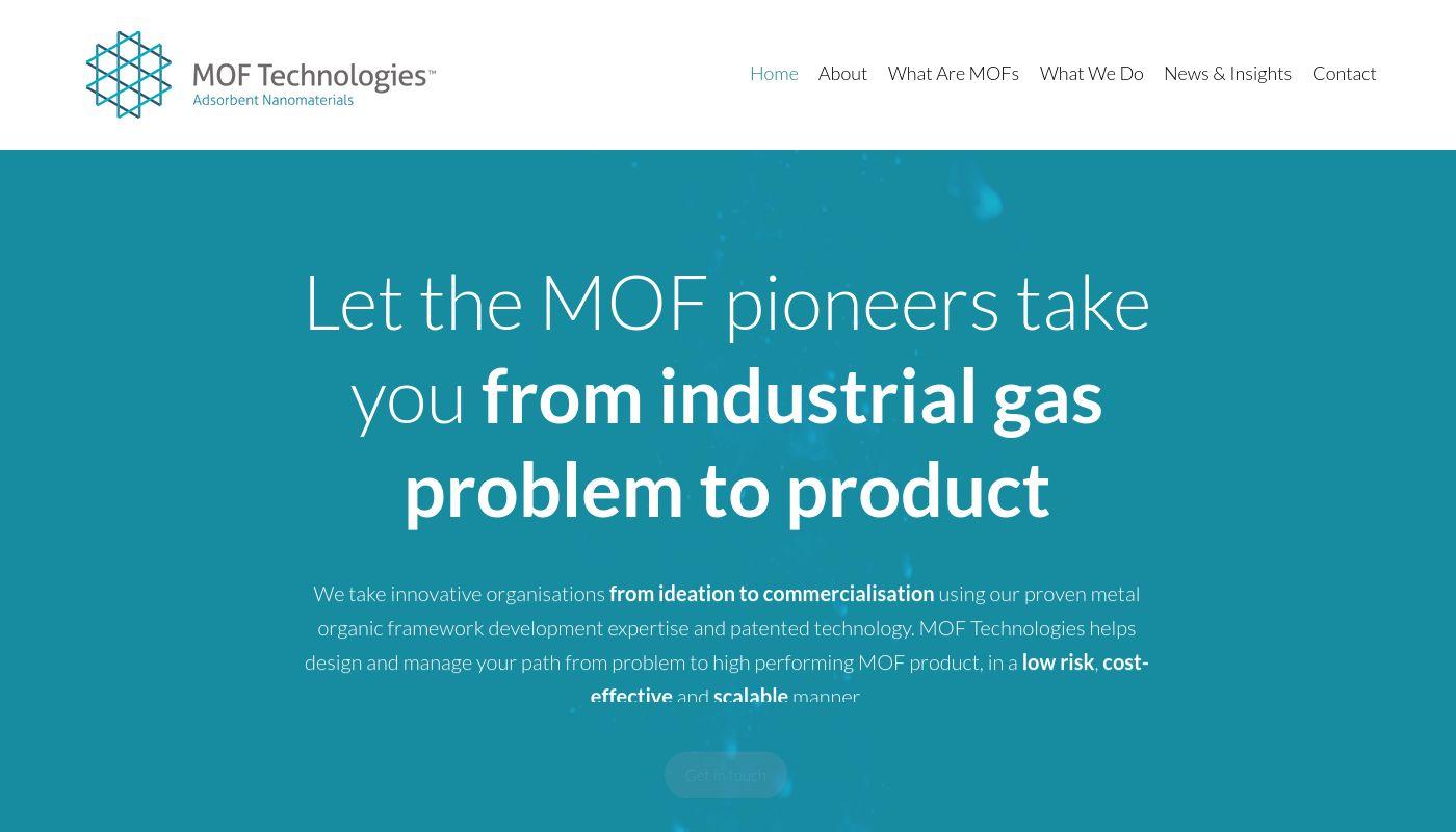 15) MOF Technologies
