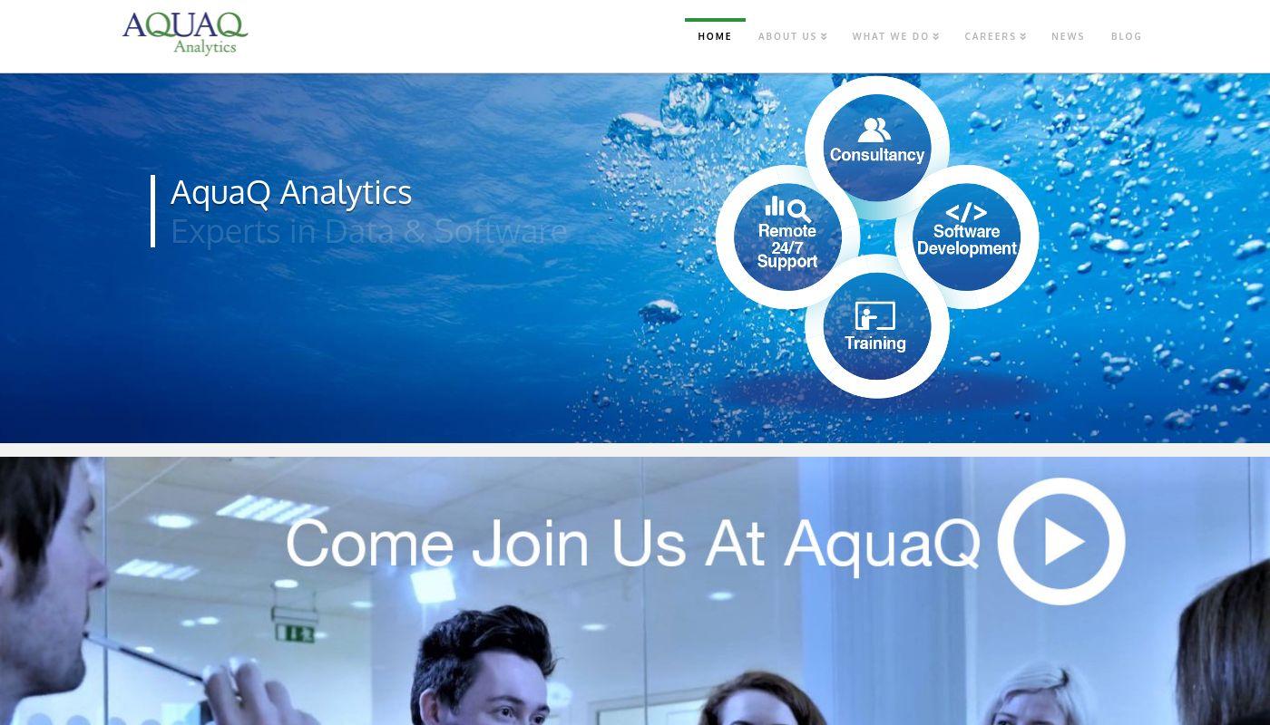 36) AquaQ Analytics Limited