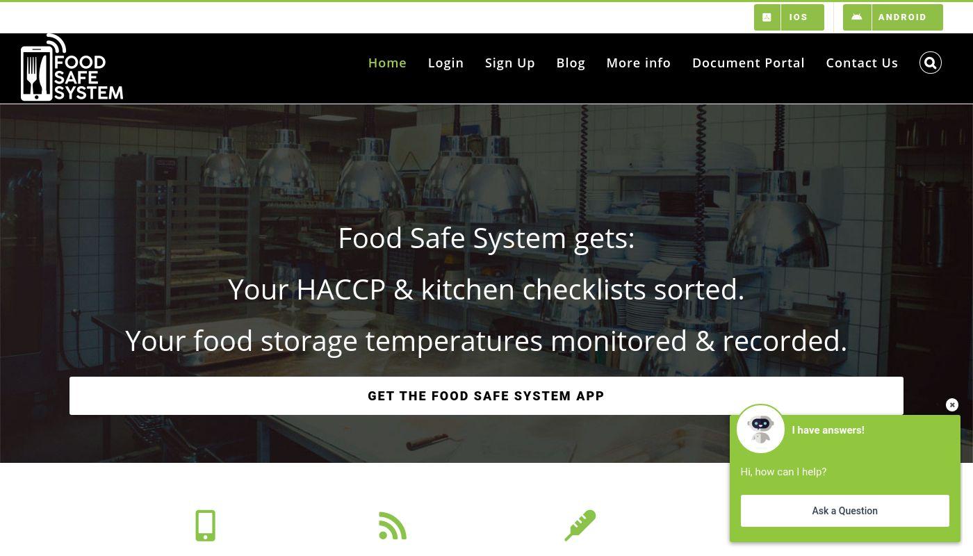 56) Food Safe System