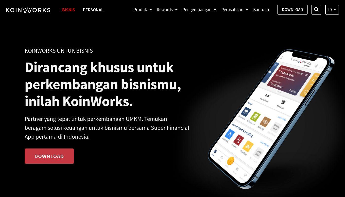 20) KoinWorks
