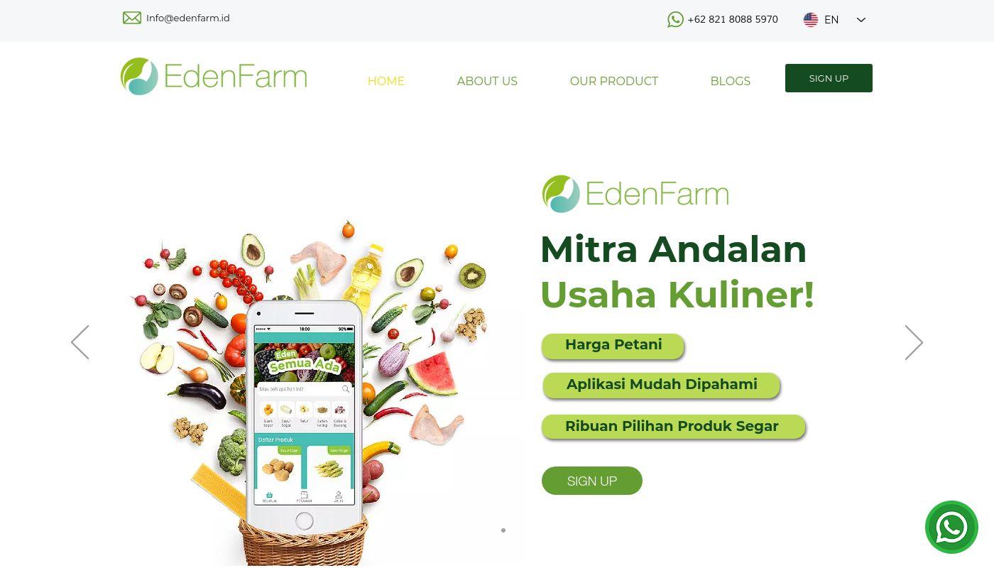 39) Eden Farm Indonesia