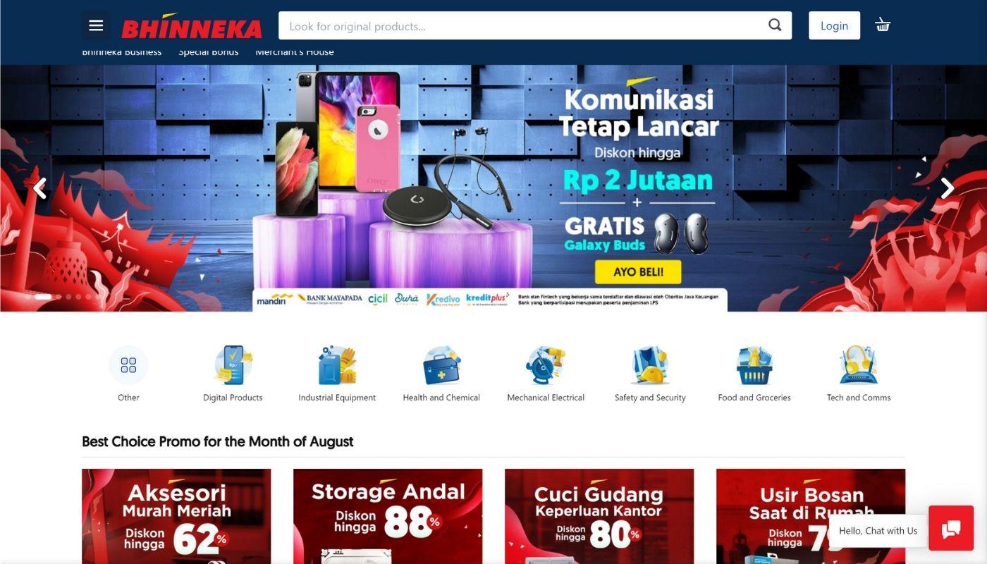 61) Bhinneka.Com