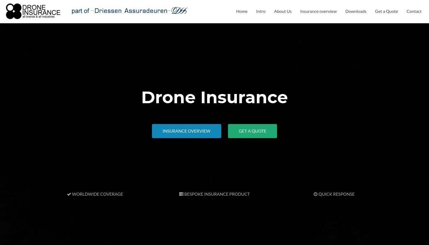61) Drone Insurance