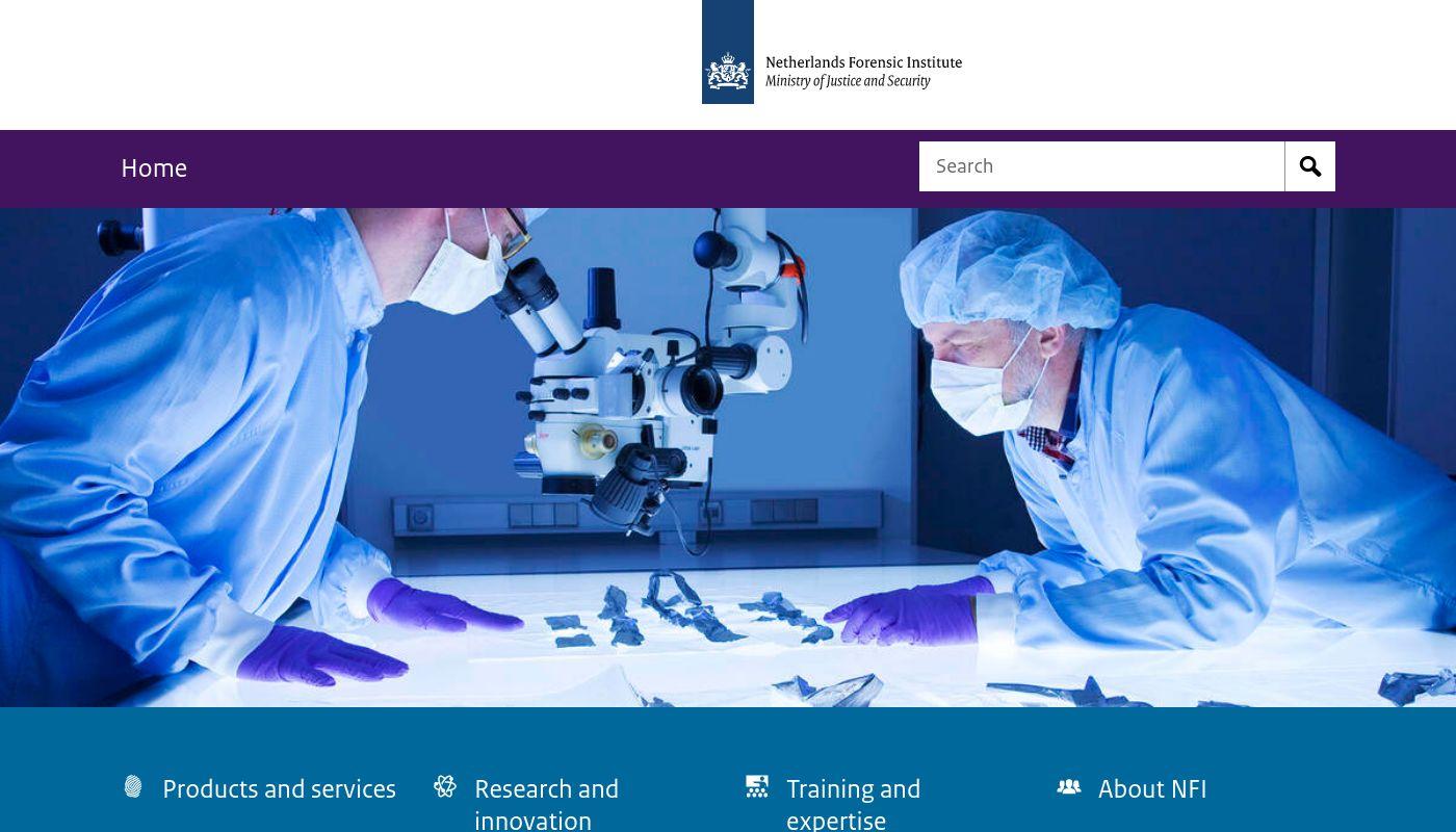 69) Netherlands Forensics Institute