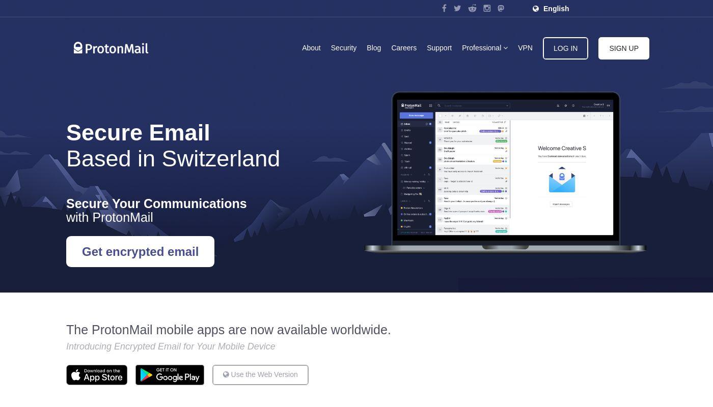 2) ProtonMail