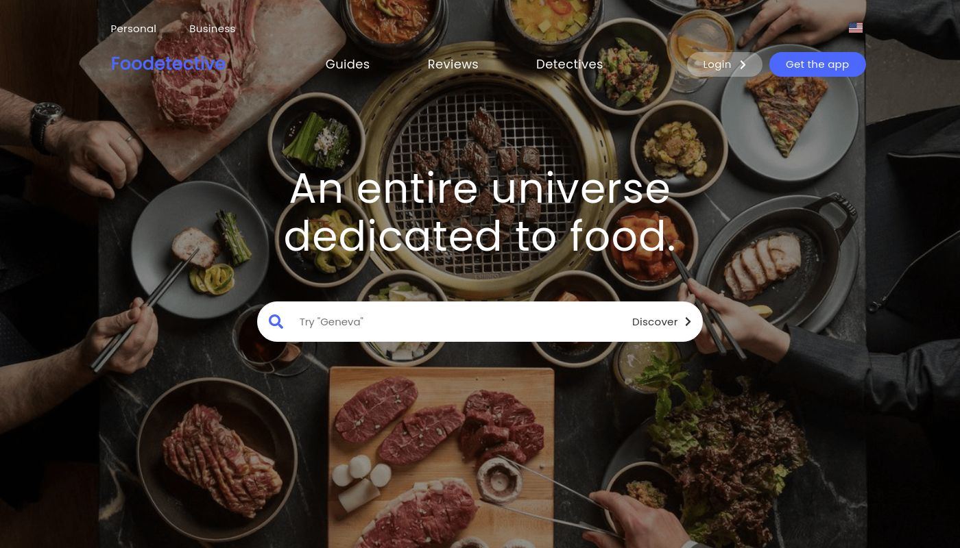 15) Foodetective