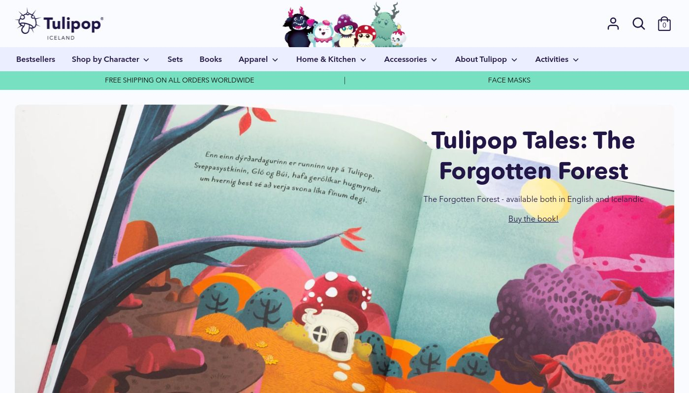35) Tulipop