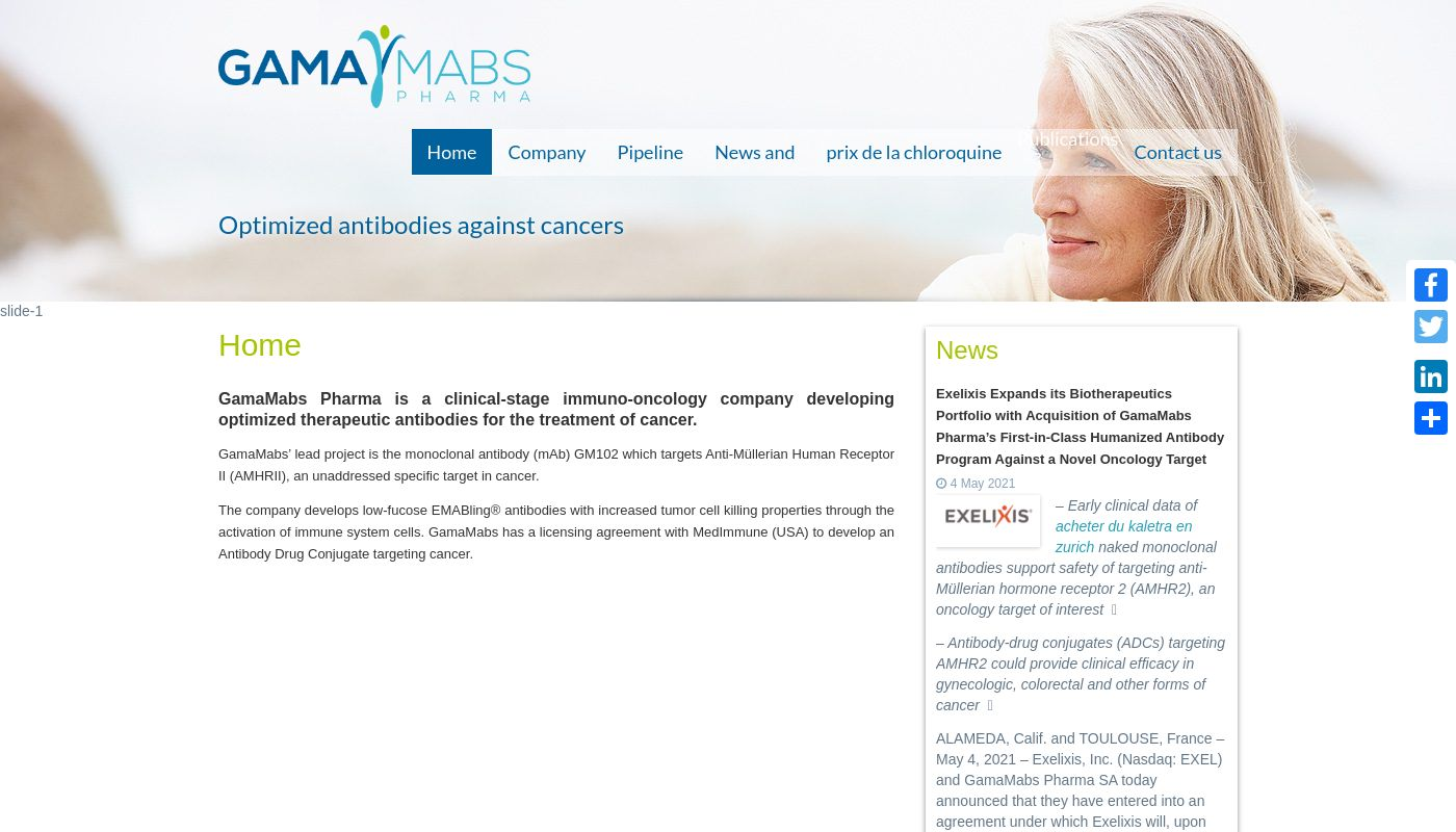 7) GamaMabs Pharma