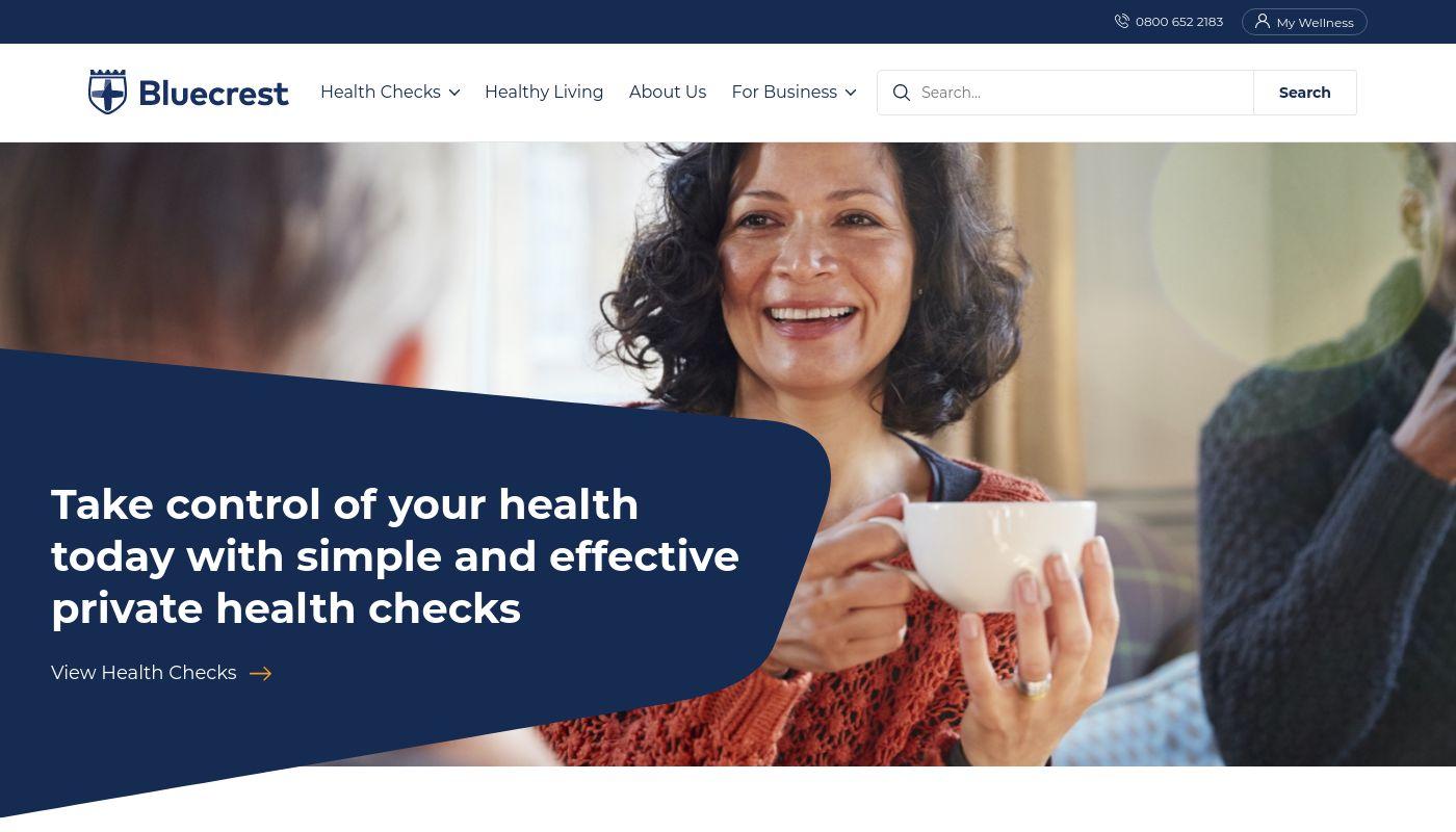 4) Bluecrest Health Screening