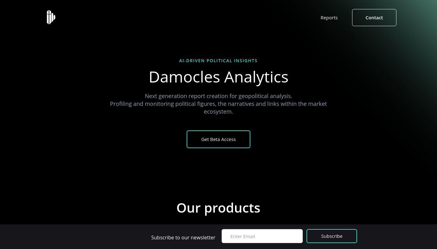 35) Damocles Analytics