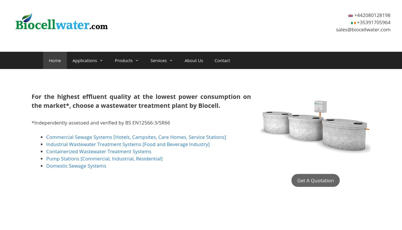 48) Biocell Water
