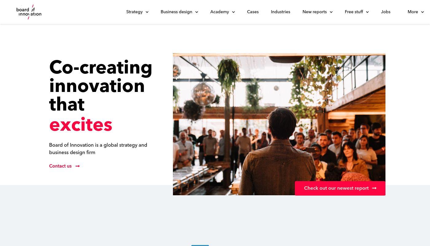 26) Board of Innovation