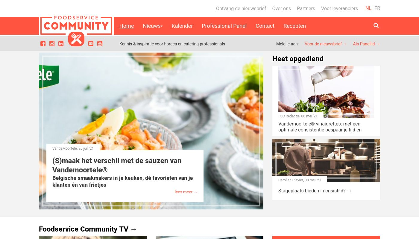 64) Foodservice Community