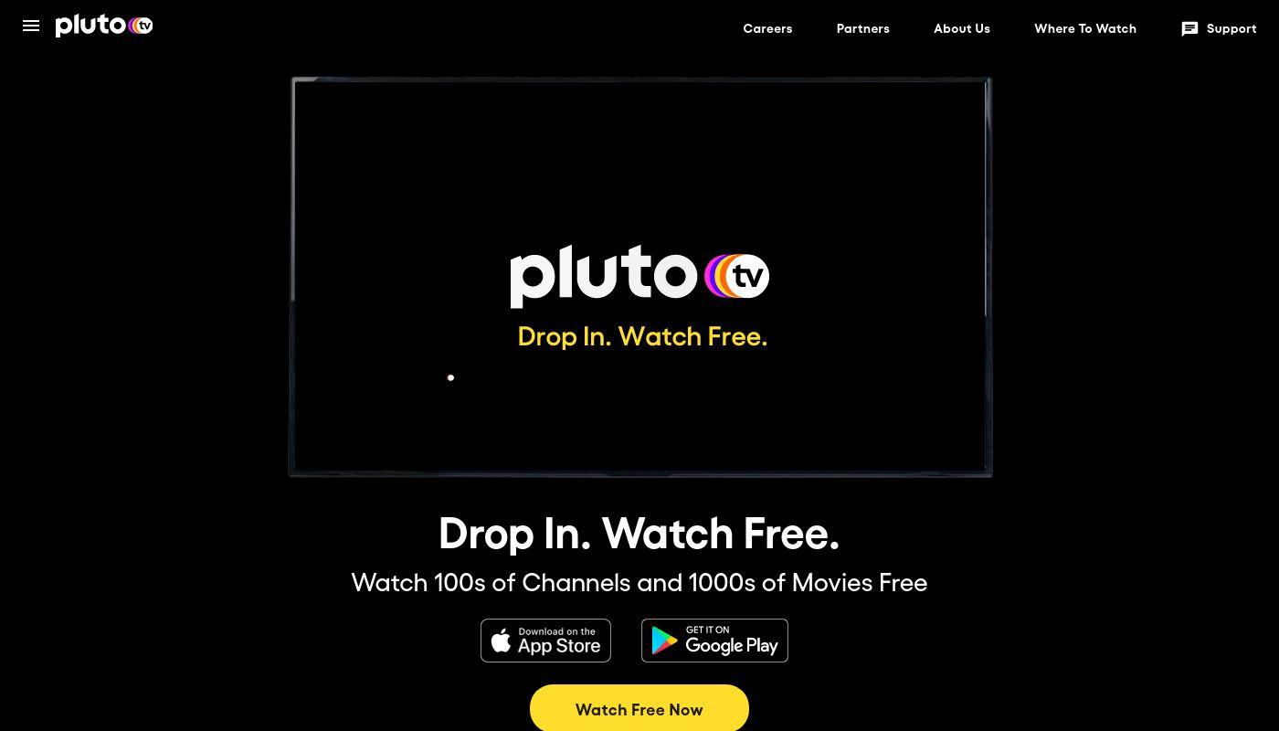 9) Pluto TV