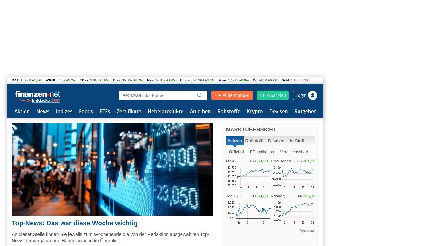 13) finanzen.net