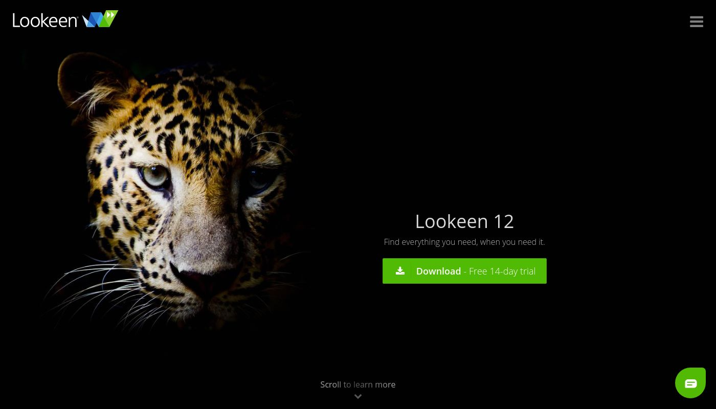 38) Lookeen Desktop Search