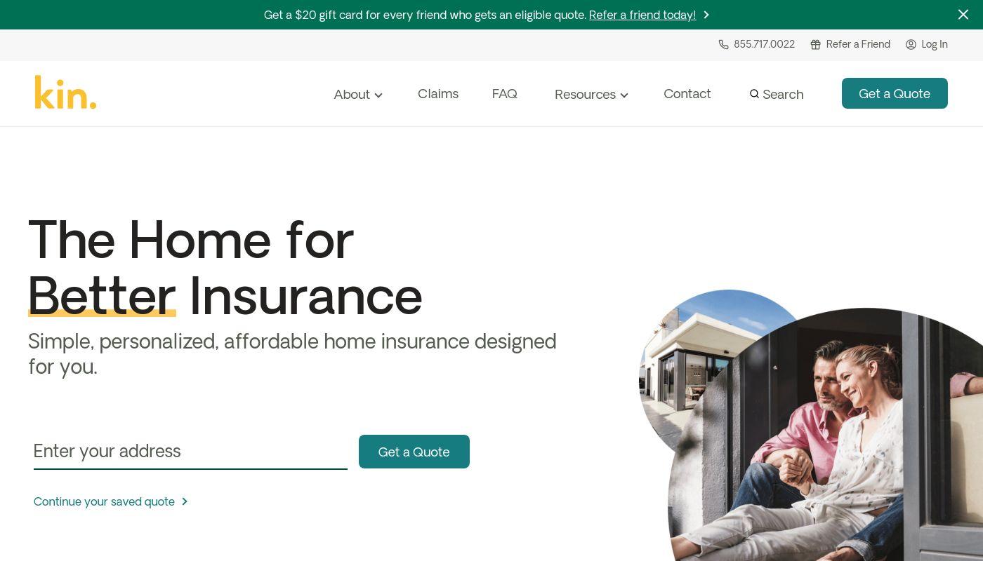 5) Kin Insurance