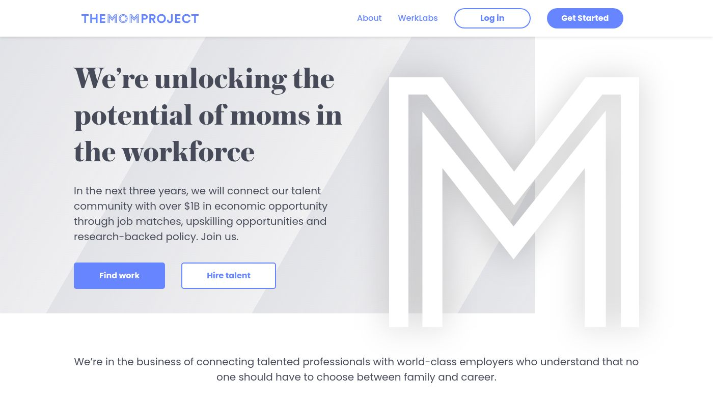 20) The Mom Project