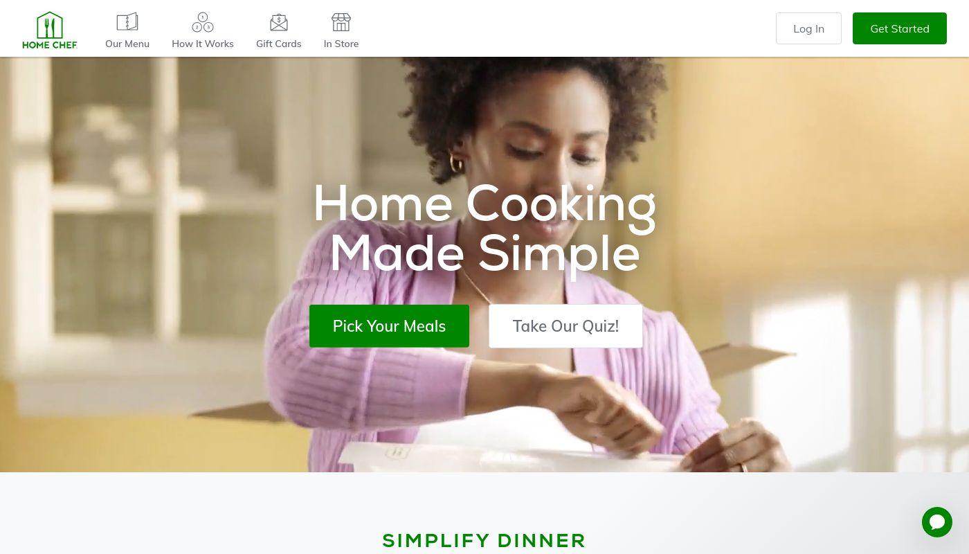 21) Home Chef