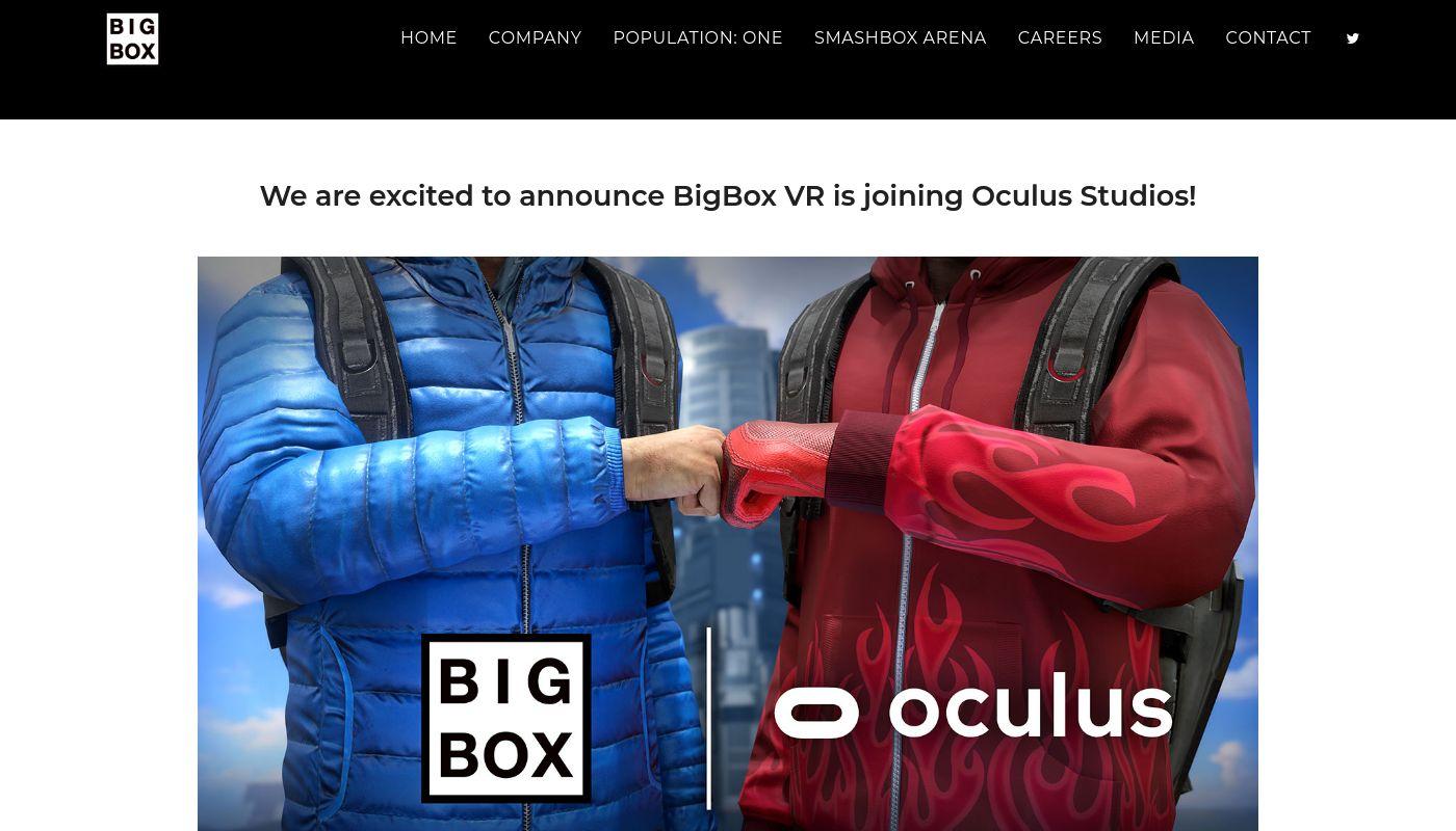 27) BigBox VR