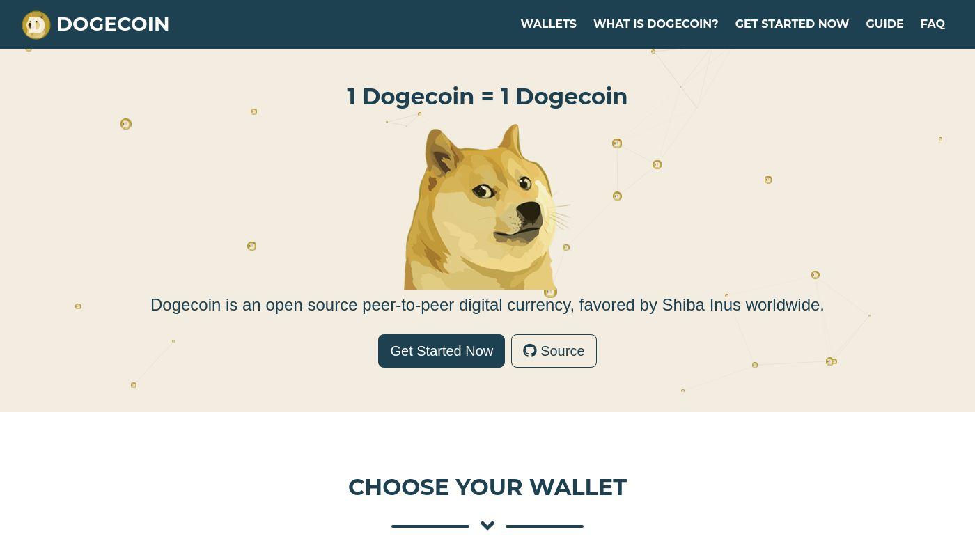 41) Dogecoin