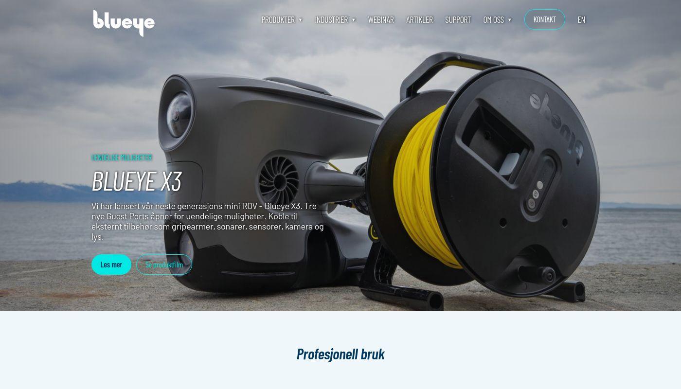 2) Blueye Robotics