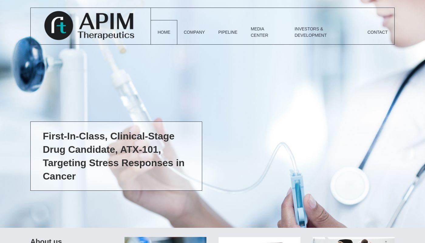 12) APIM Therapeutics