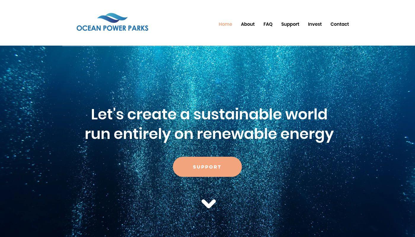 35) Ocean Power Parks
