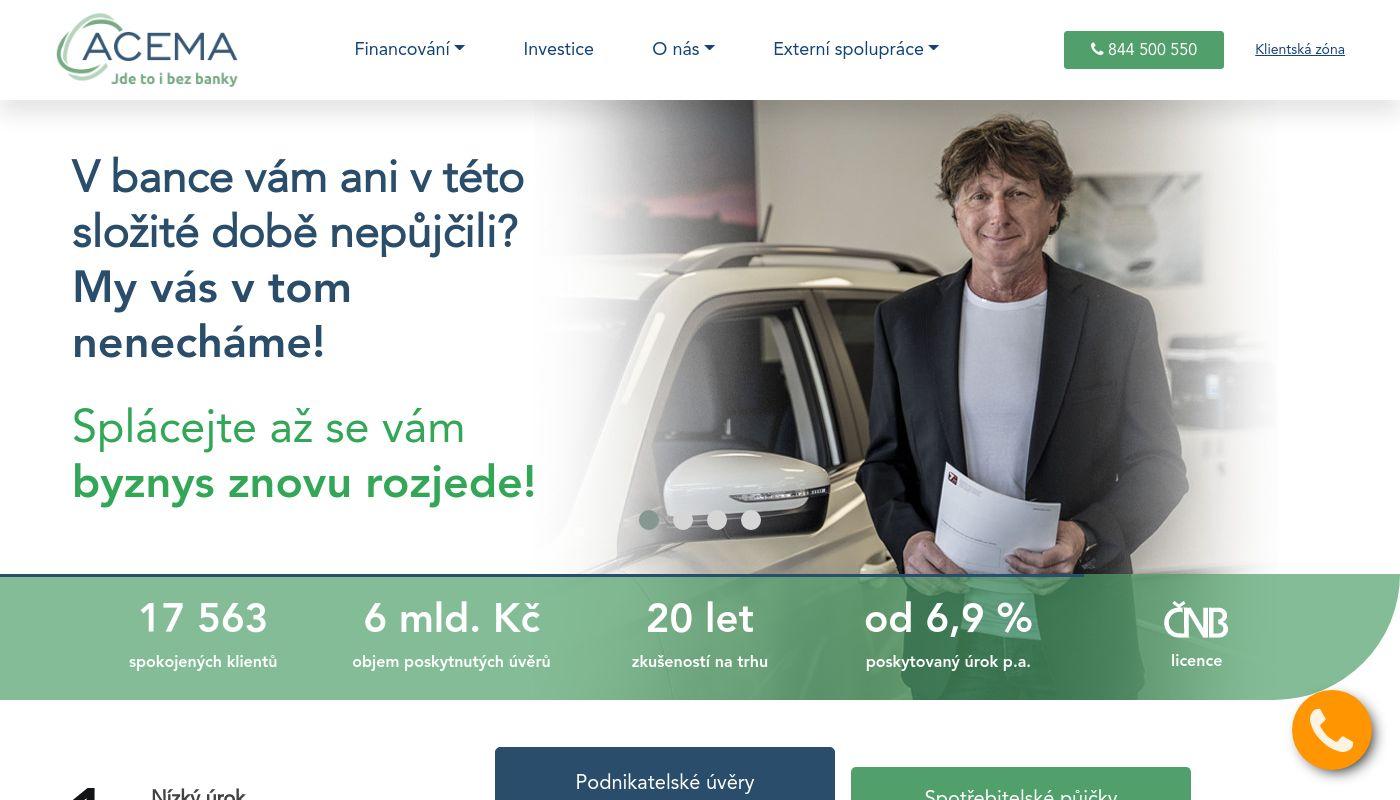 23) ACEMA Credit Czech