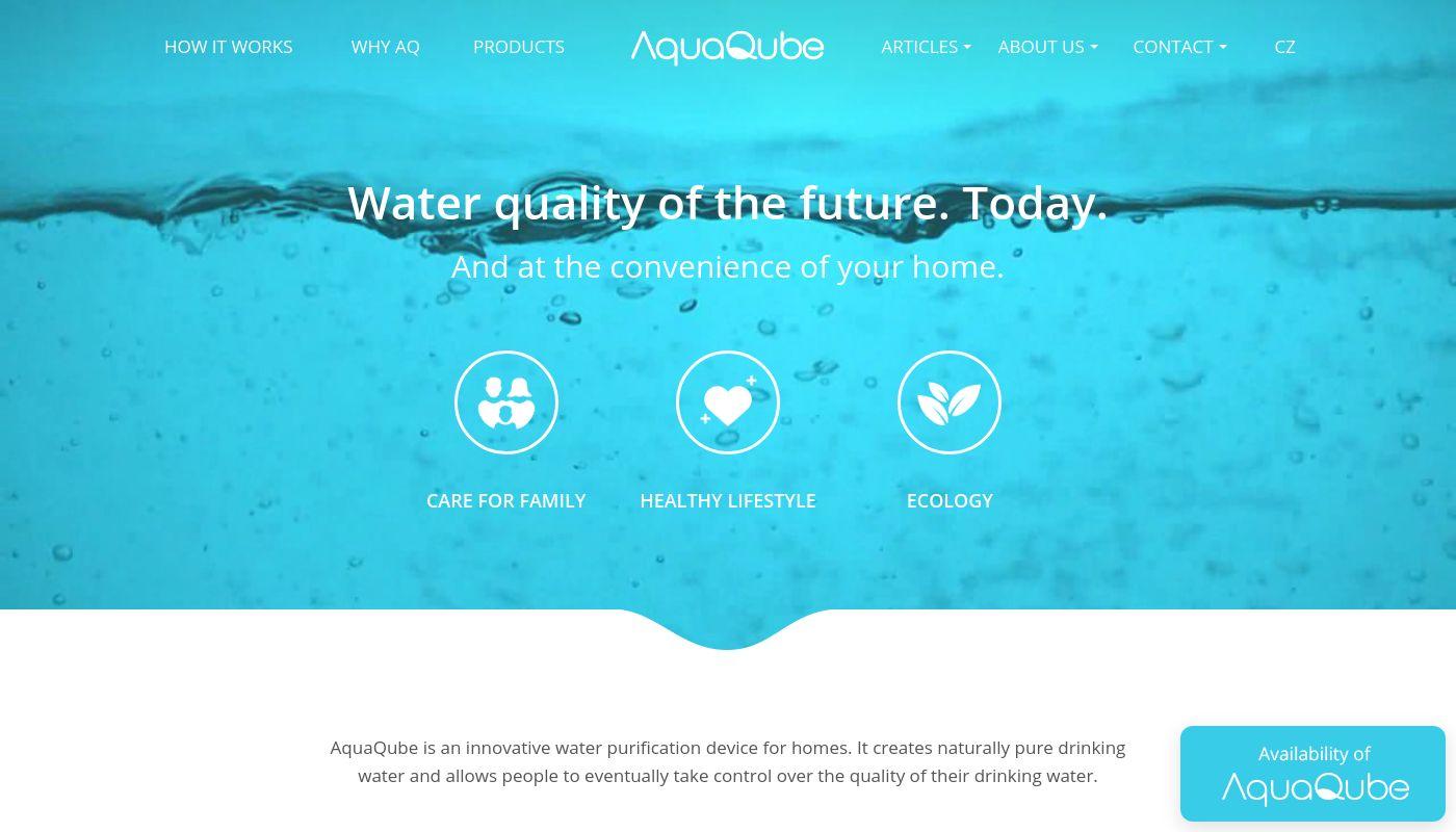 30) AquaQube