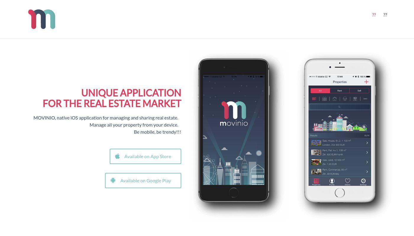 33) MOVINIO App