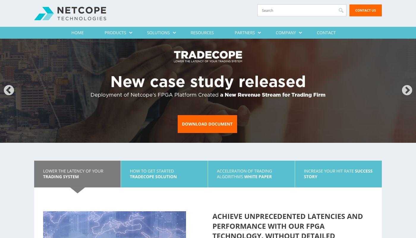 29) Netcope Technologies