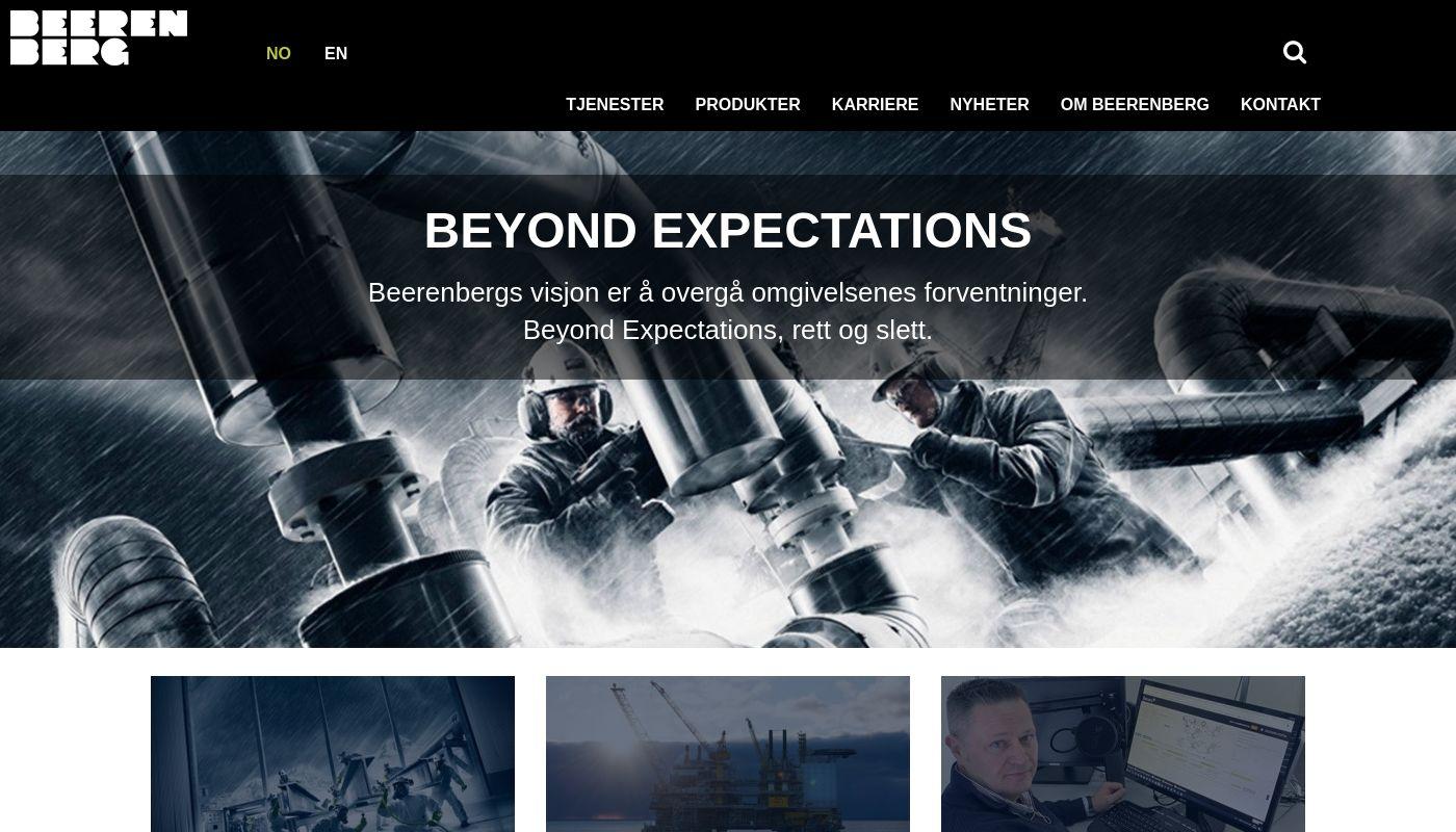 38) Beerenberg Corp.