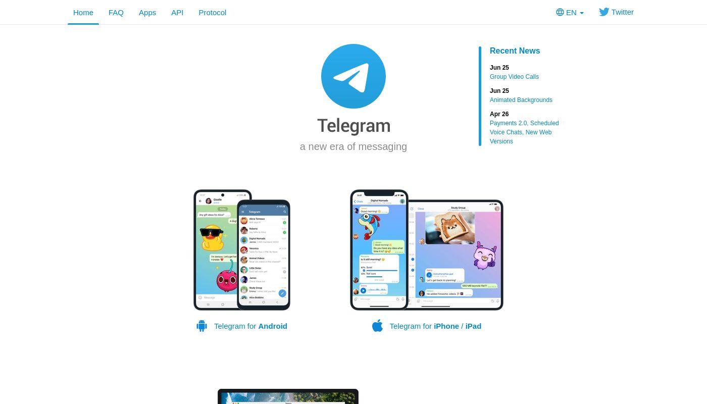 79) Telegram Messenger