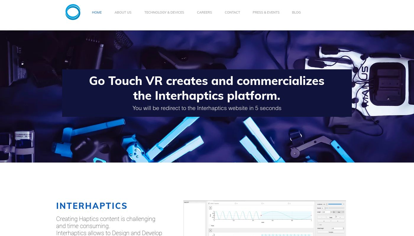 12) Go Touch VR