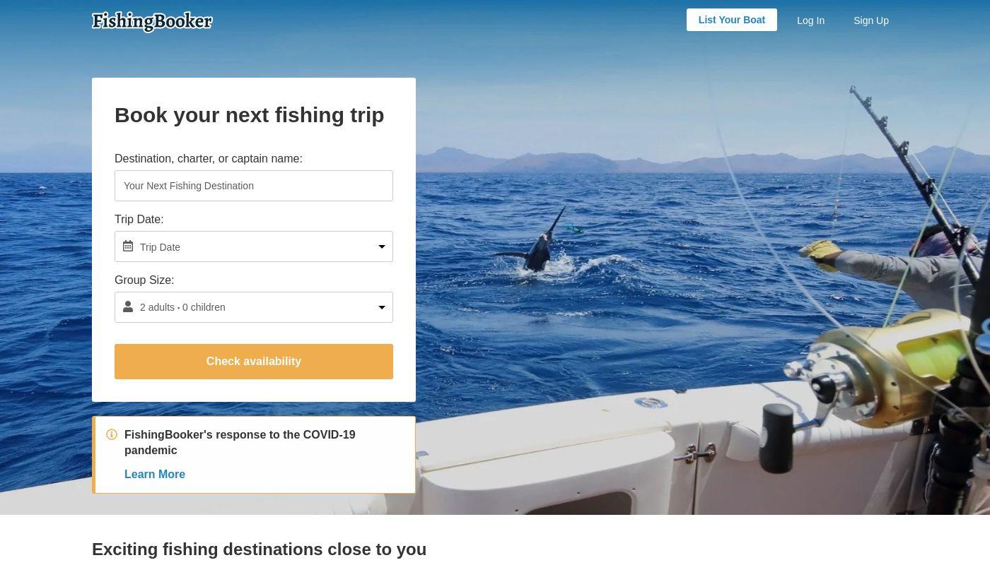 8) FishingBooker