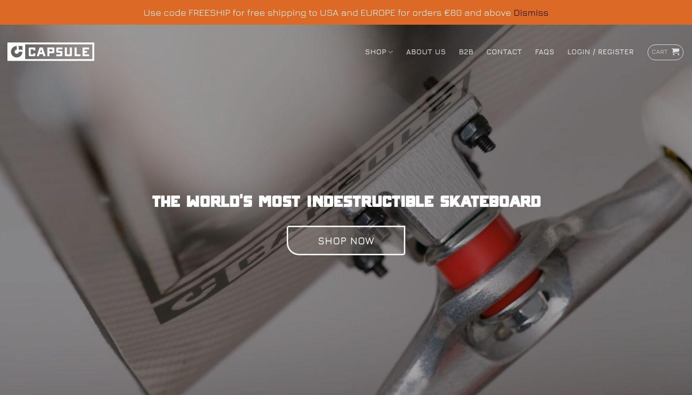 31) Capsule Skateboards