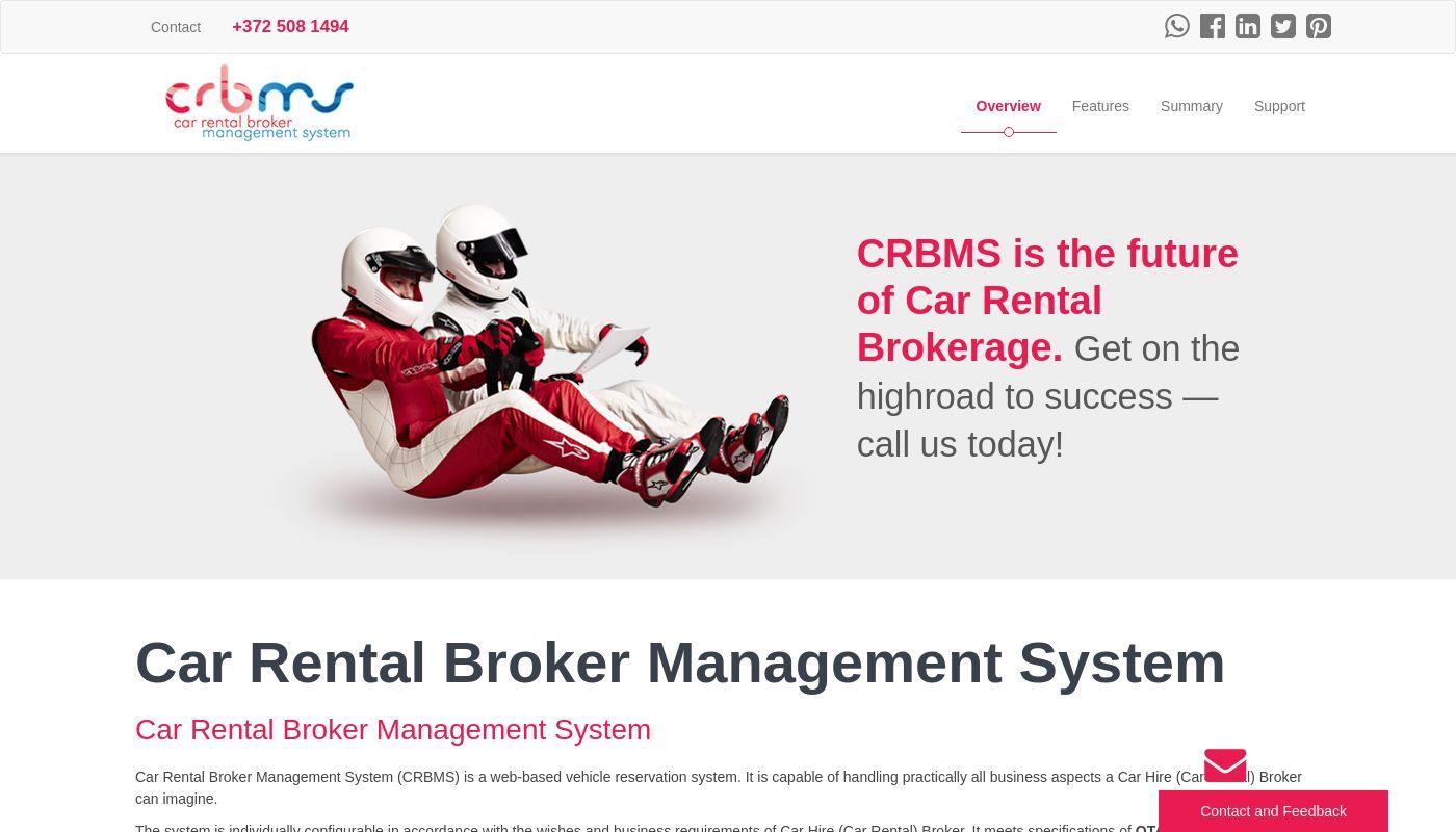 32) Car Rental Broker Management System