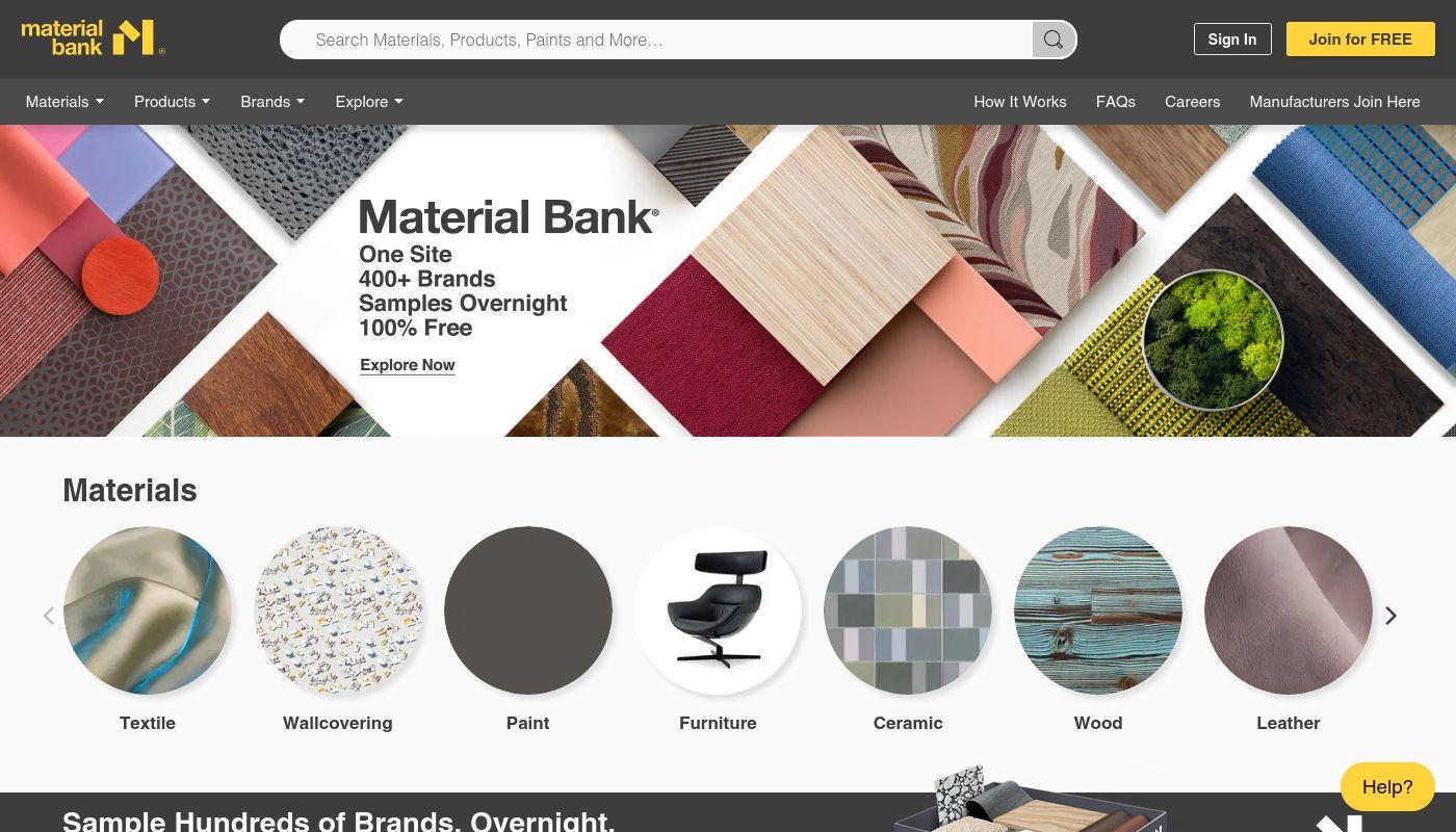 137) Material Bank