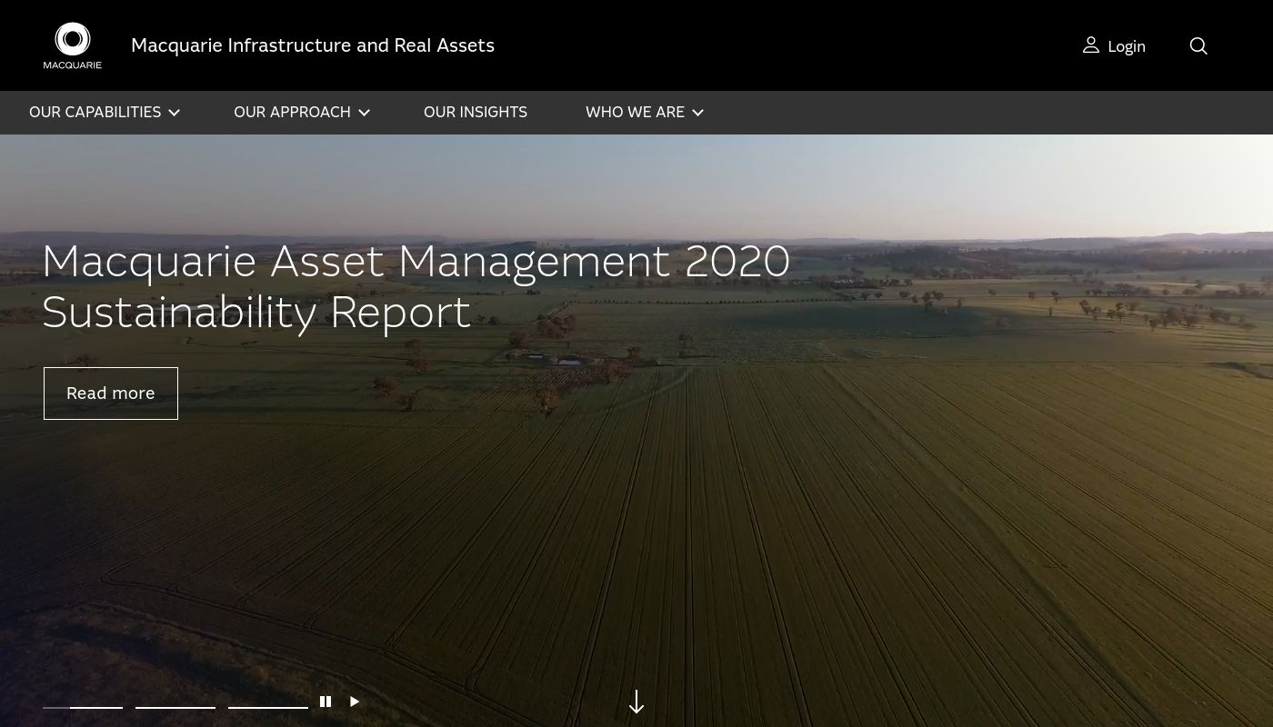 30) Macquarie Infrastructure and Real Asset