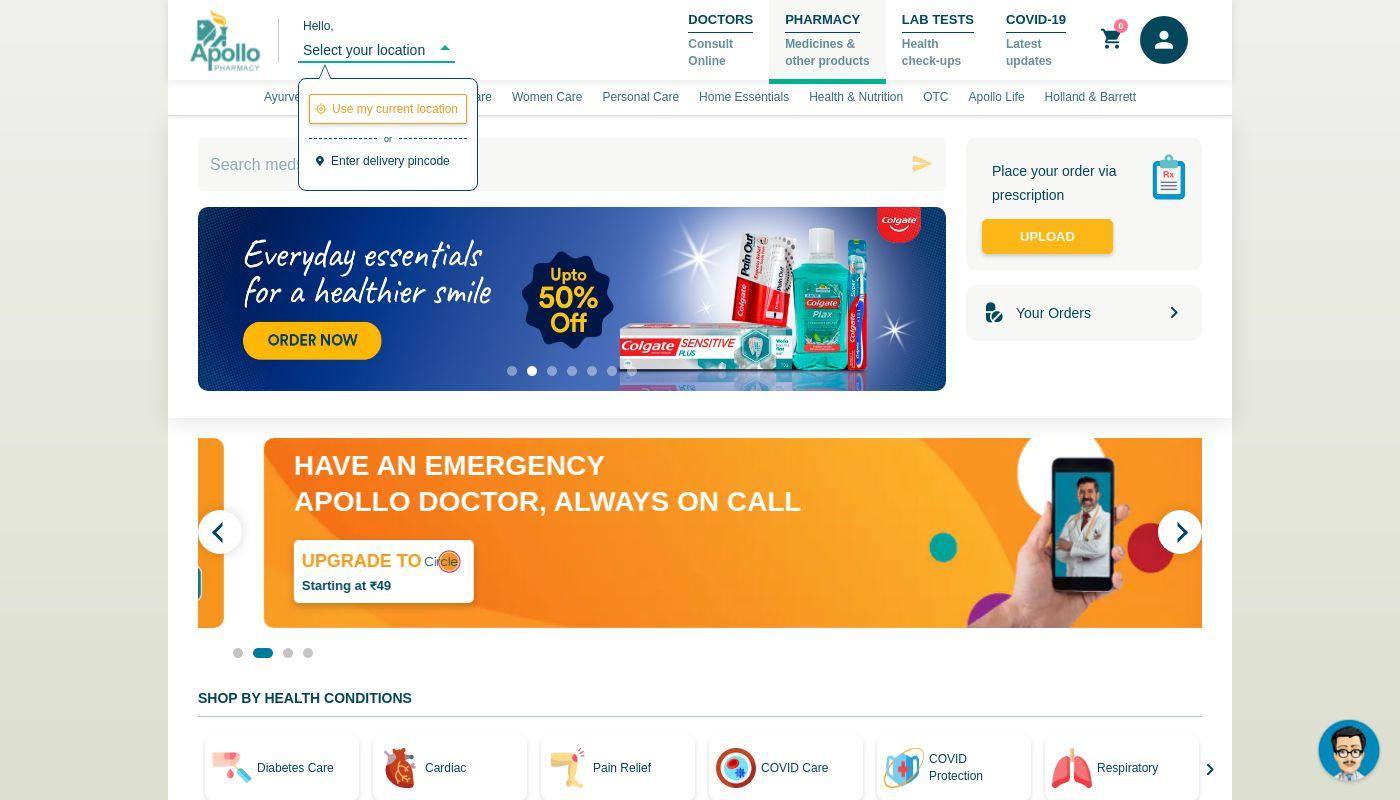 18) Apollo Pharmacy