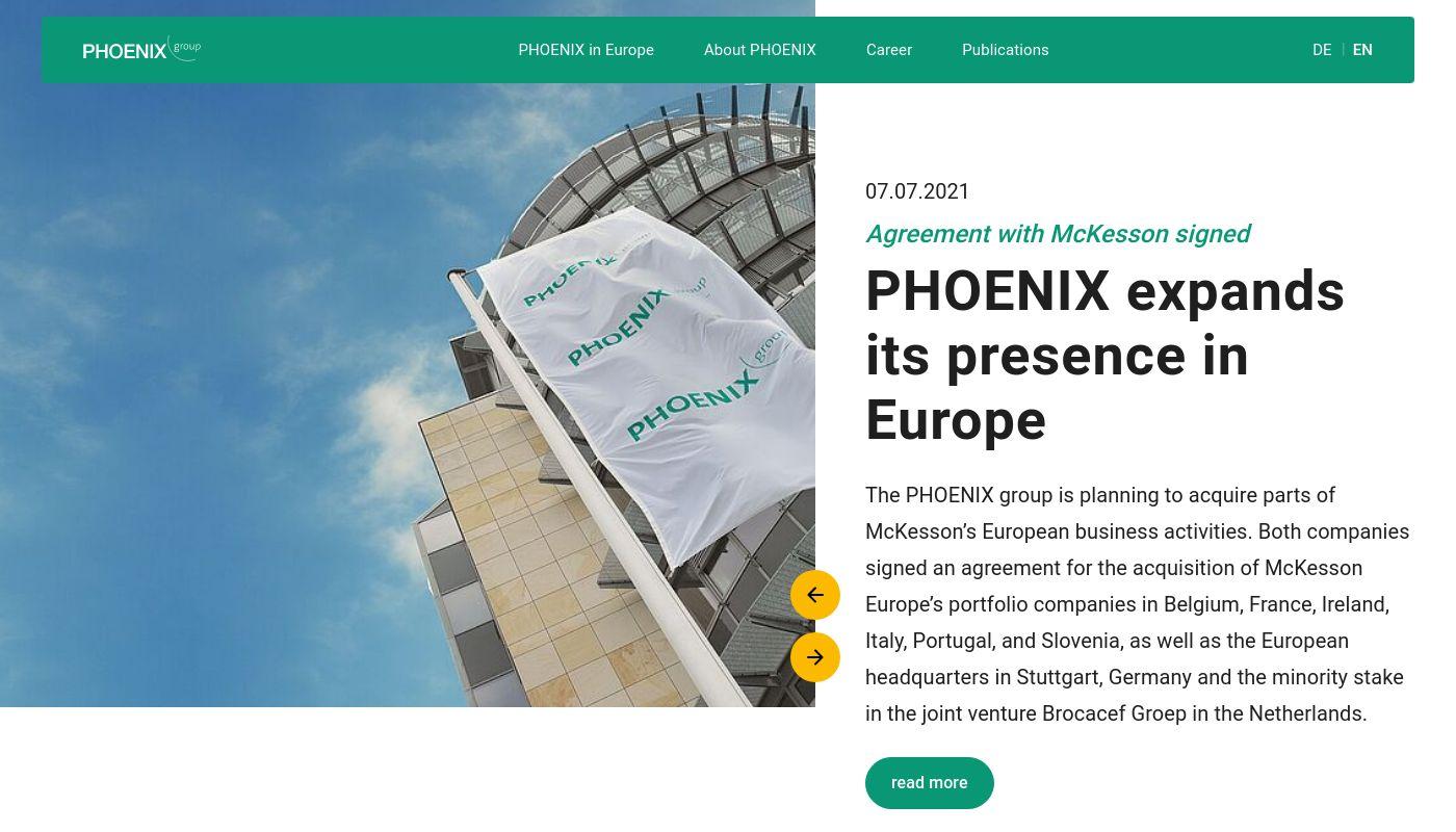 16) Phoenix Pharmahandel