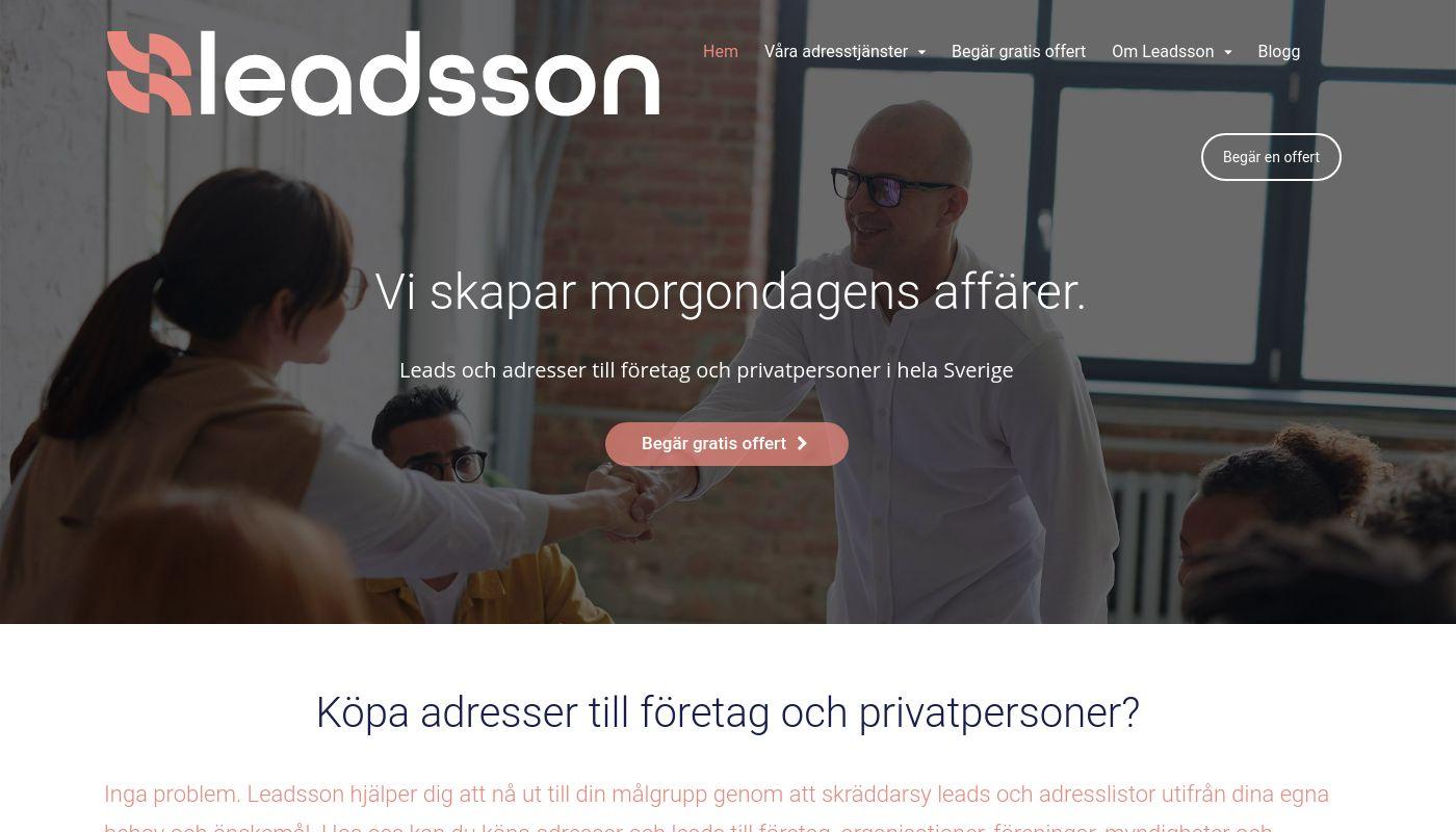 35) Leadsson