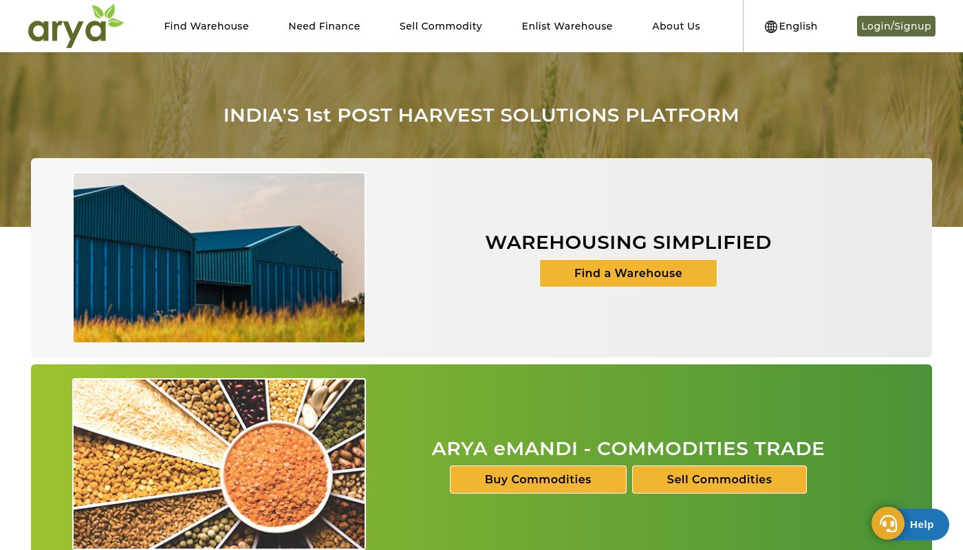 14) Arya Collateral Warehousing Services
