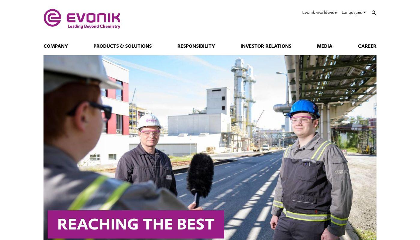 4) Evonik Industries