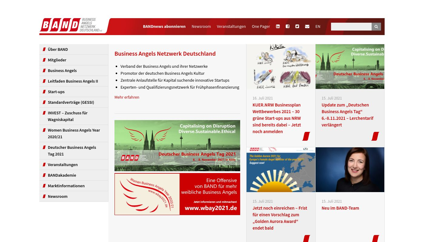 19) Business Angels Network Germany