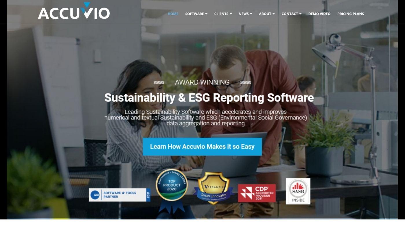 181) Accuvio Sustainability Software