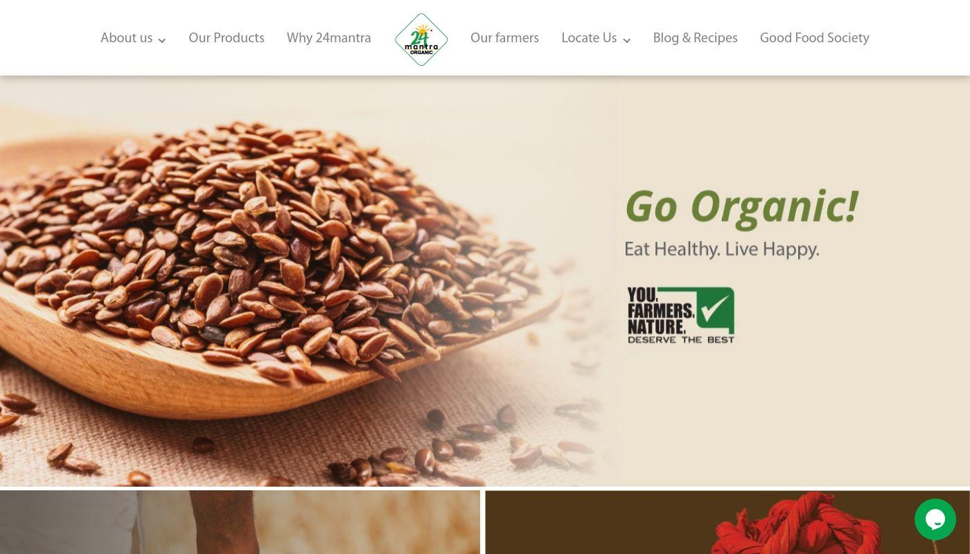 57) 24 Mantra Organic