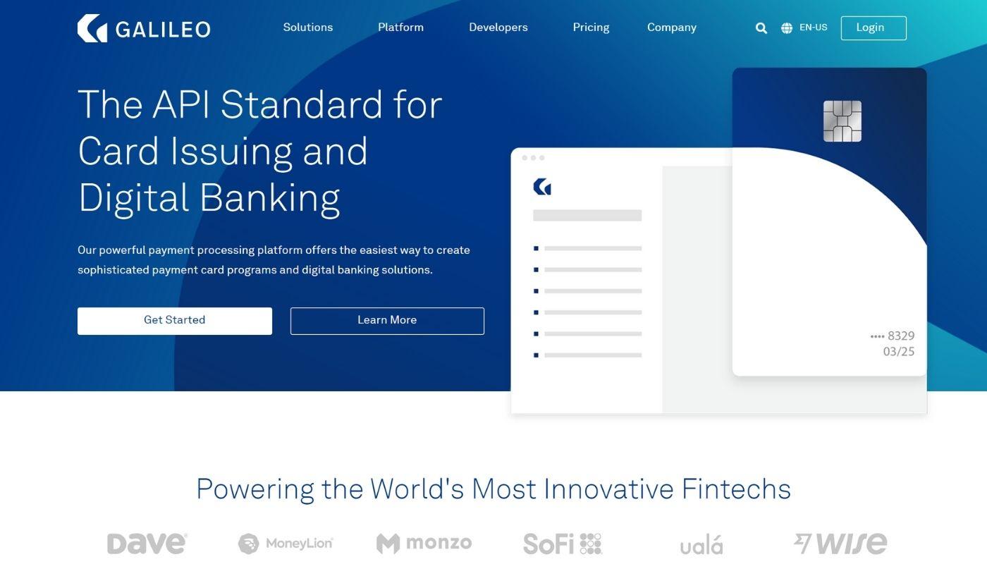 4) Galileo Financial Technologies