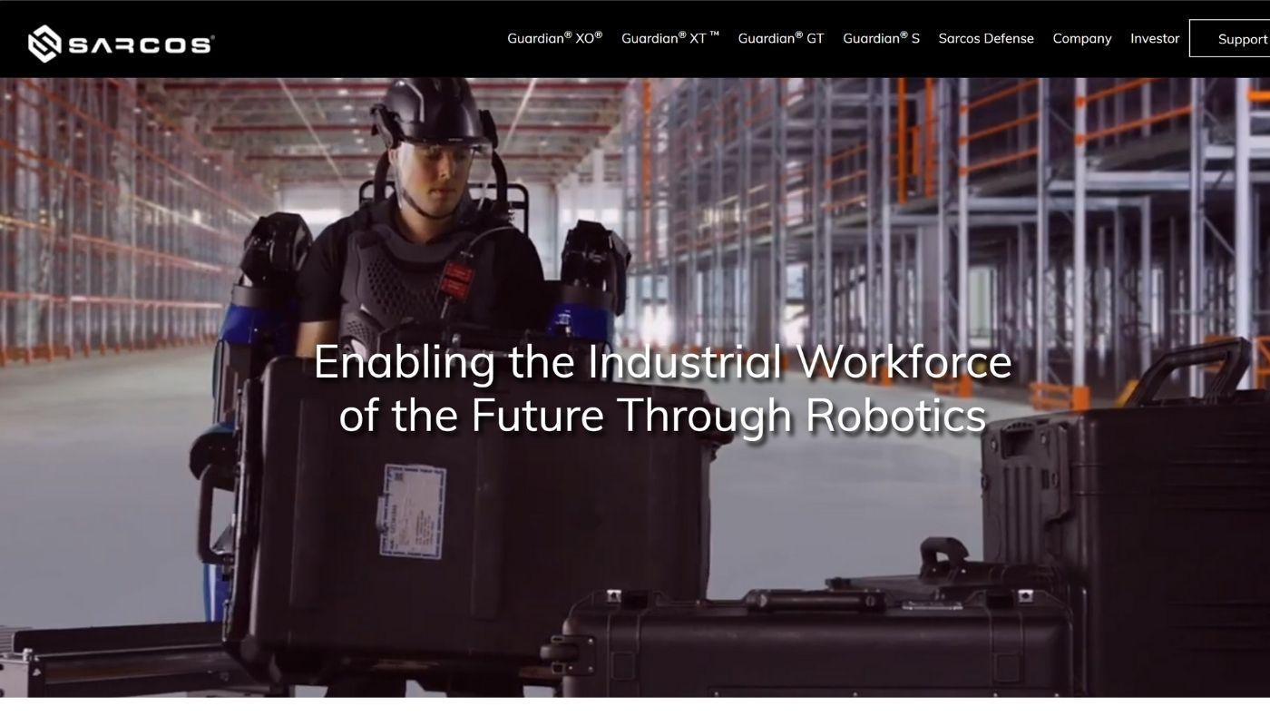 17) Sarcos Robotics